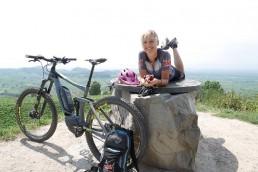E-Mountainbike Fahrtechnik on Tour im Schwarzwald