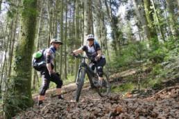 Bollenhut.bike Fahrtechnikkurs Spitzkehren 1