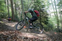 Bollenhut.bike Fahrtechnikkurs Spitzkehren 2